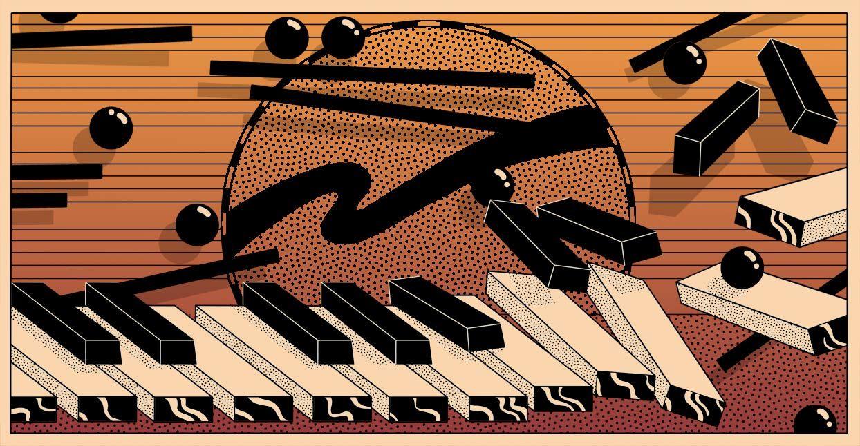 piano, benefit, music, Spencer Brewer, Elena Casanova